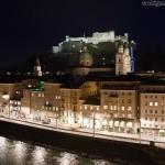 Blick von der Steinterrasse (Hotel Stein) in Salzburg