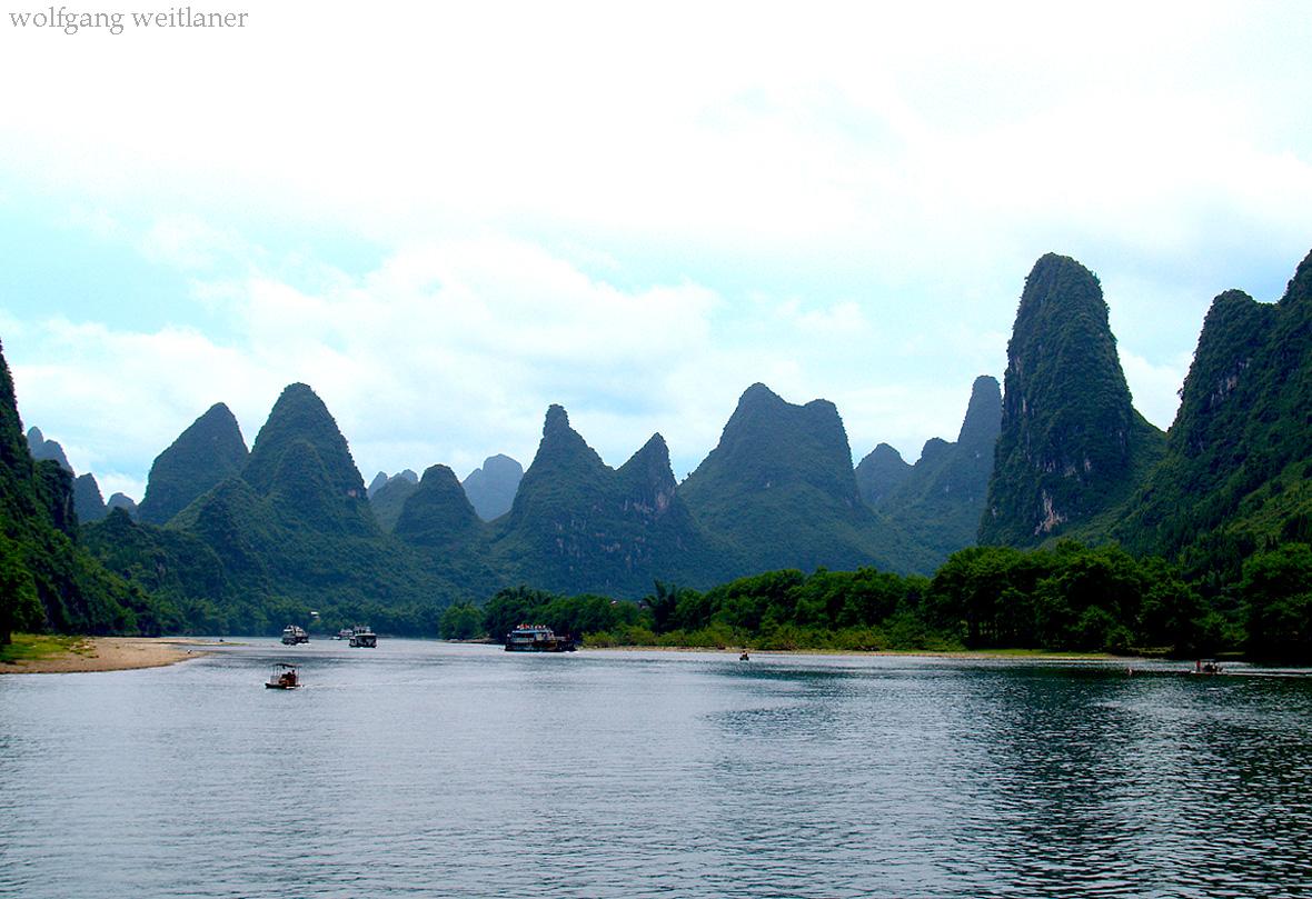 Flussfahrt Li-Jiang