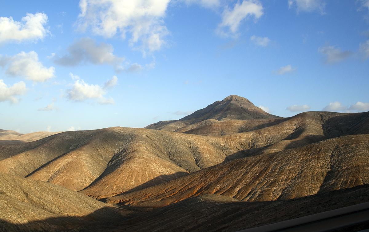 Aus dem Busfenster, Fuerteventura, Kanaren
