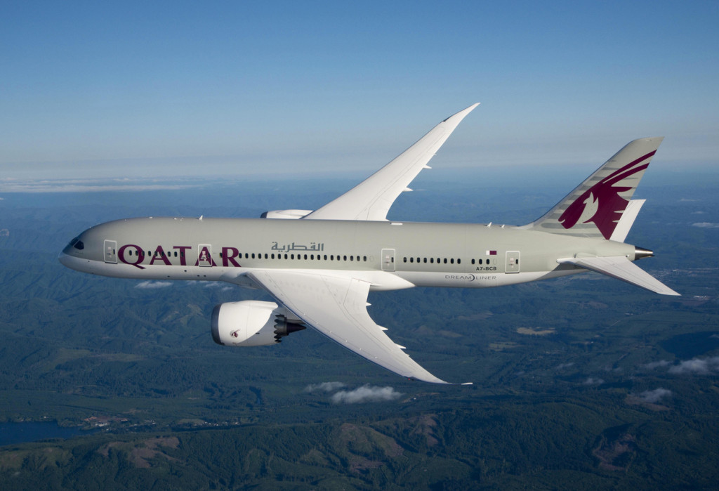 Qatar Airways B787 Dreamliner-1