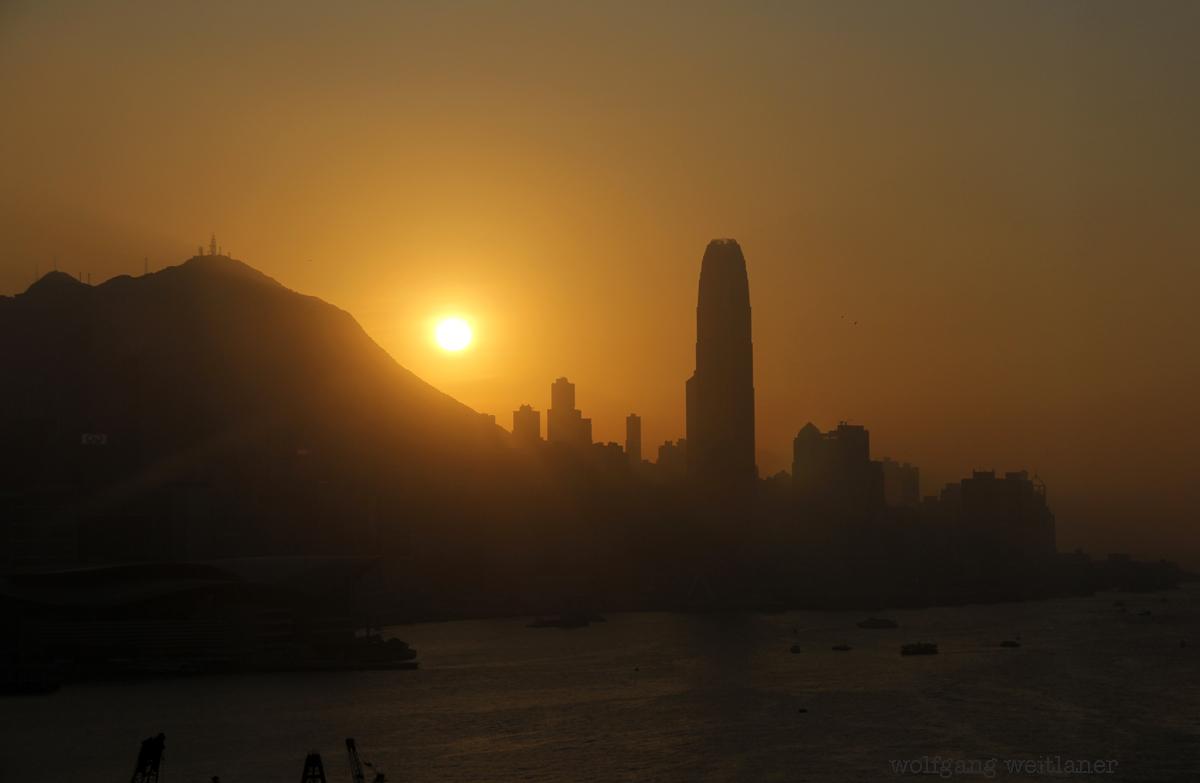 Hongkong-sunset