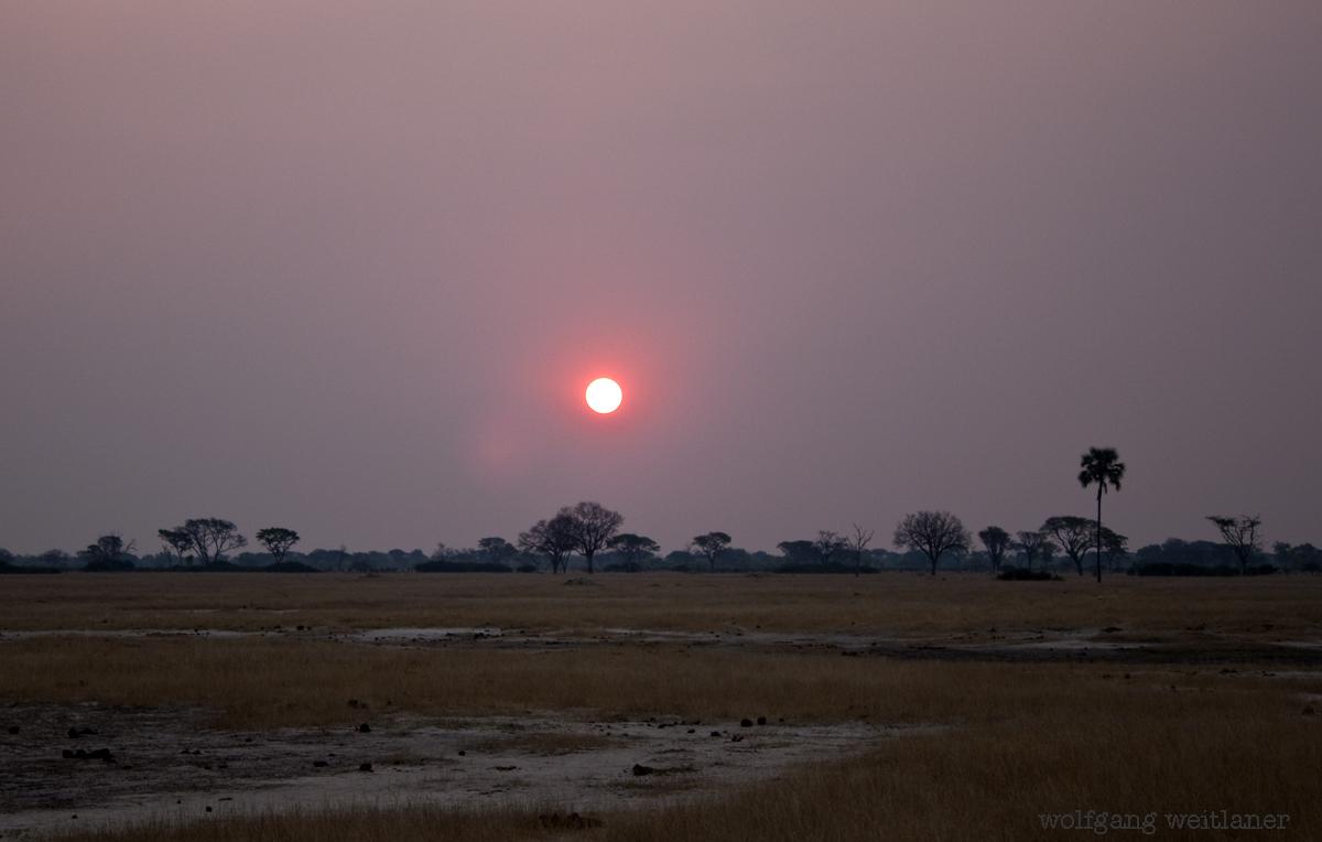 hwange-sunset