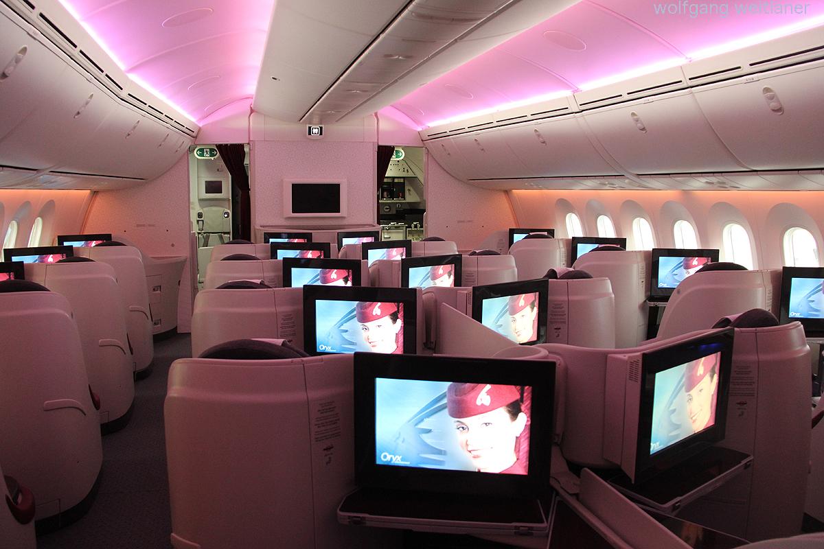 Business Class Dreamliner Qatar Airways