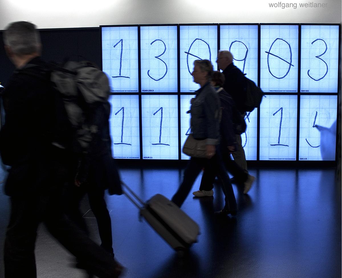 Time Lapse, Flughafen Wien Schwechat, Österreich