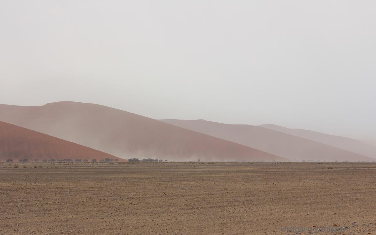 Sanddünen am Horizont