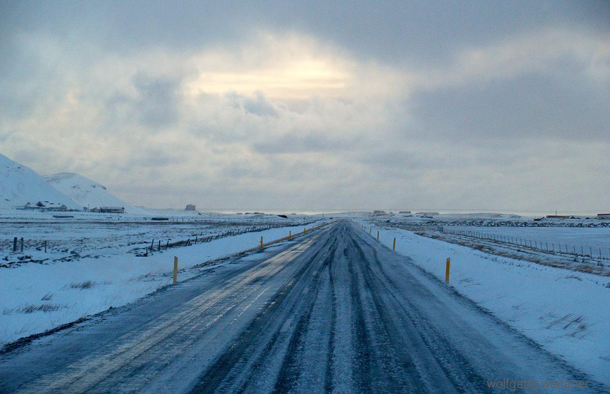 Winterreise: Nach dem Schneesturm in Island, Island