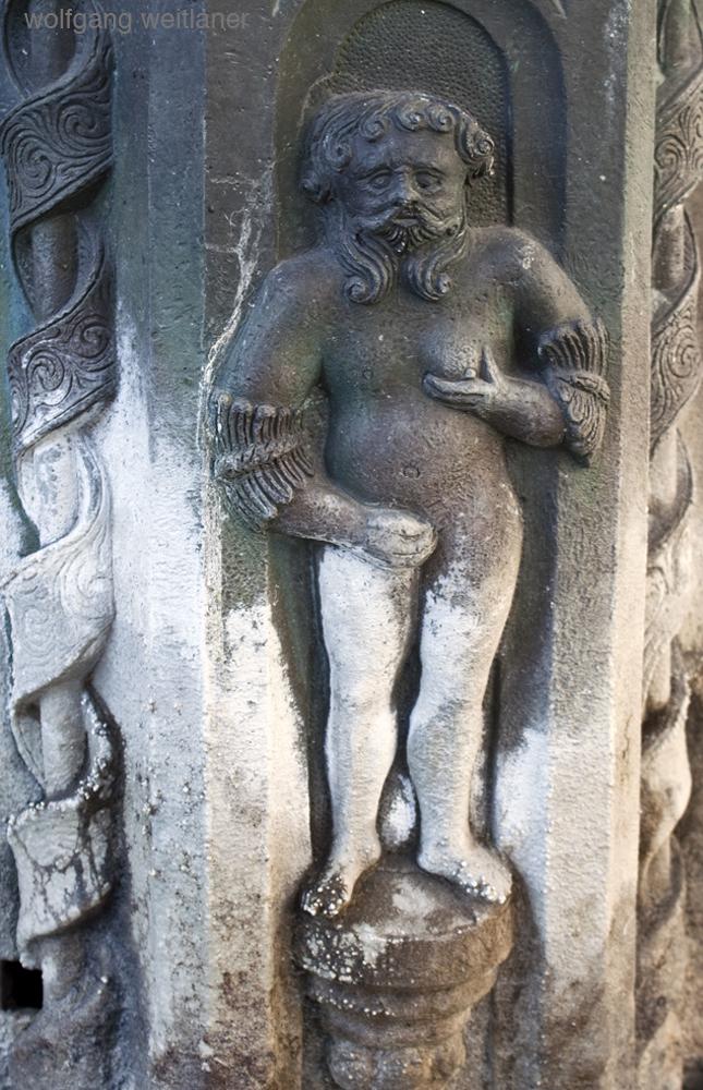 Pilgerbrunnen- st wolfgang detail