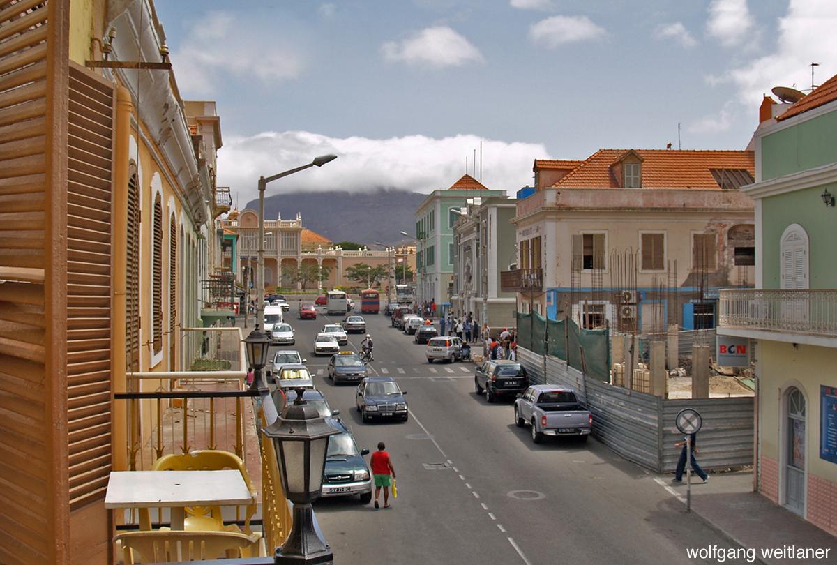 Altstadt von Mindelo, Sao Vicente, Kapverden