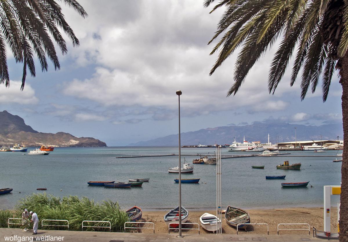 Hafen Mindelo Kapverden