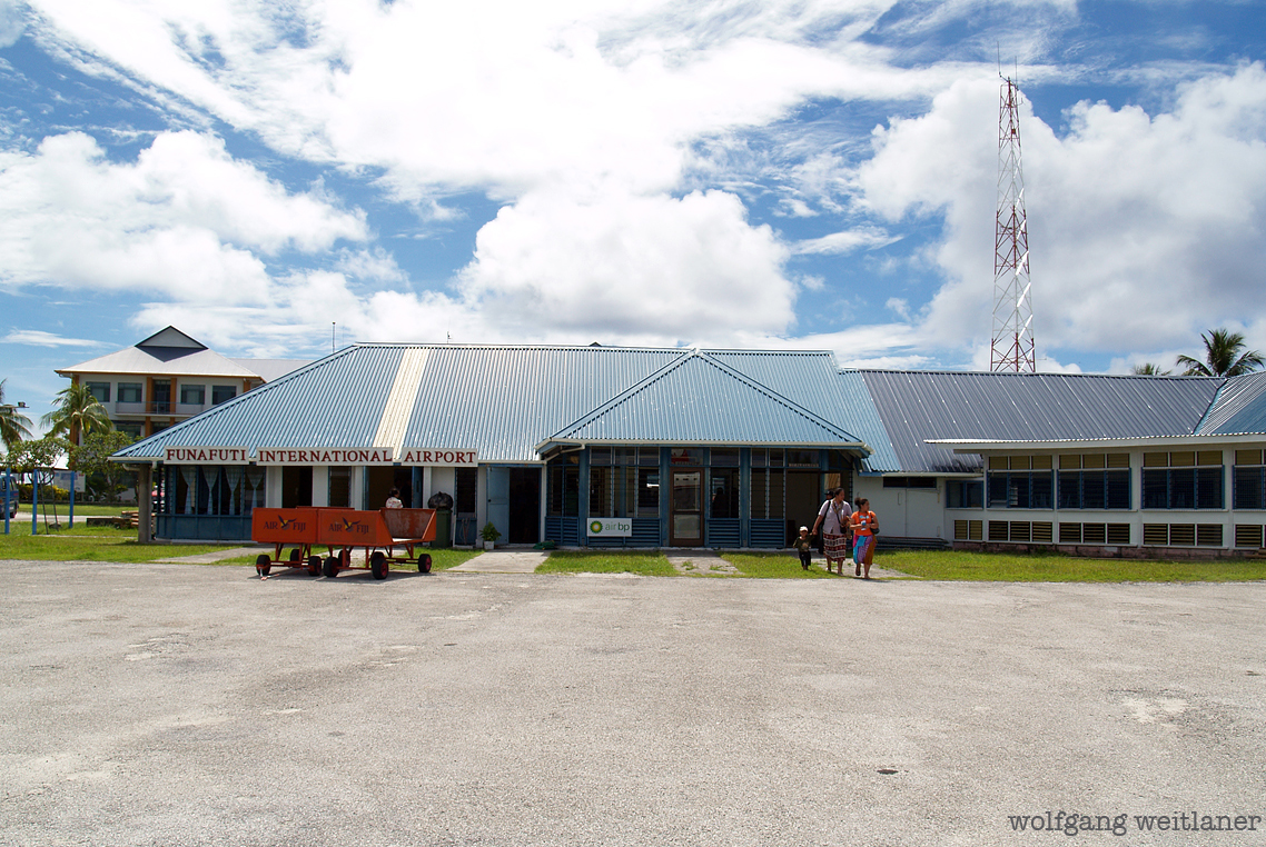 Airport Funafuti