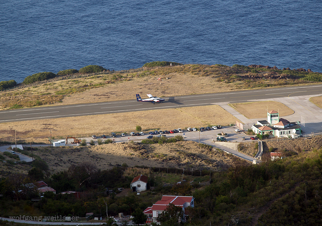SAB – Juancho E. Yrausquin Airport, Saba, Karibisch-Niederlande