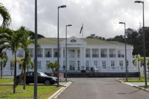 White House, Roseau, Dominica, Karibik