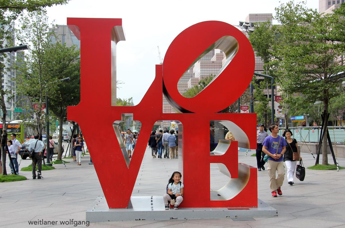 Love-Skulptur