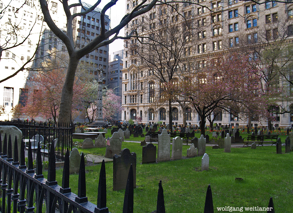 Trinity Church Cemetary, Manhattan, New York, USA