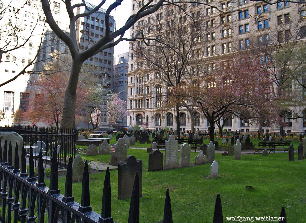 Trinity Church Cemetary, Manhattan, New York, USA
