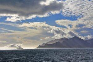 Sommermorgen in Südgeorgien, Antarctica