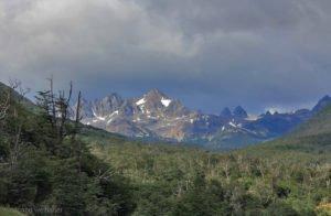 Kulisse um Puerto Williams, Feuerland, Chile