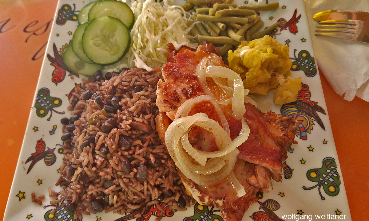 Lomo Ahuma, Lunch in Havanna, Kuba