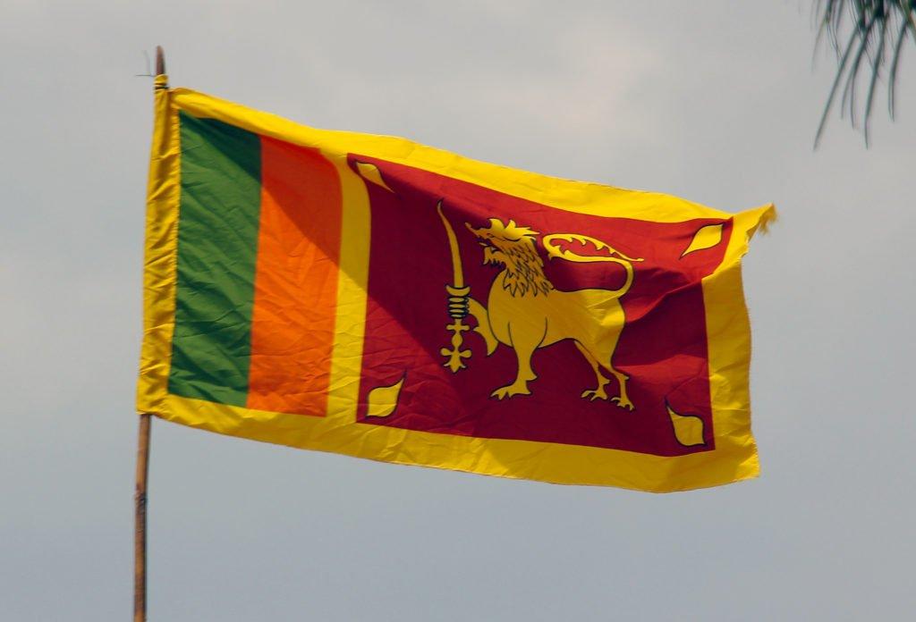 Sri lanka Flagge