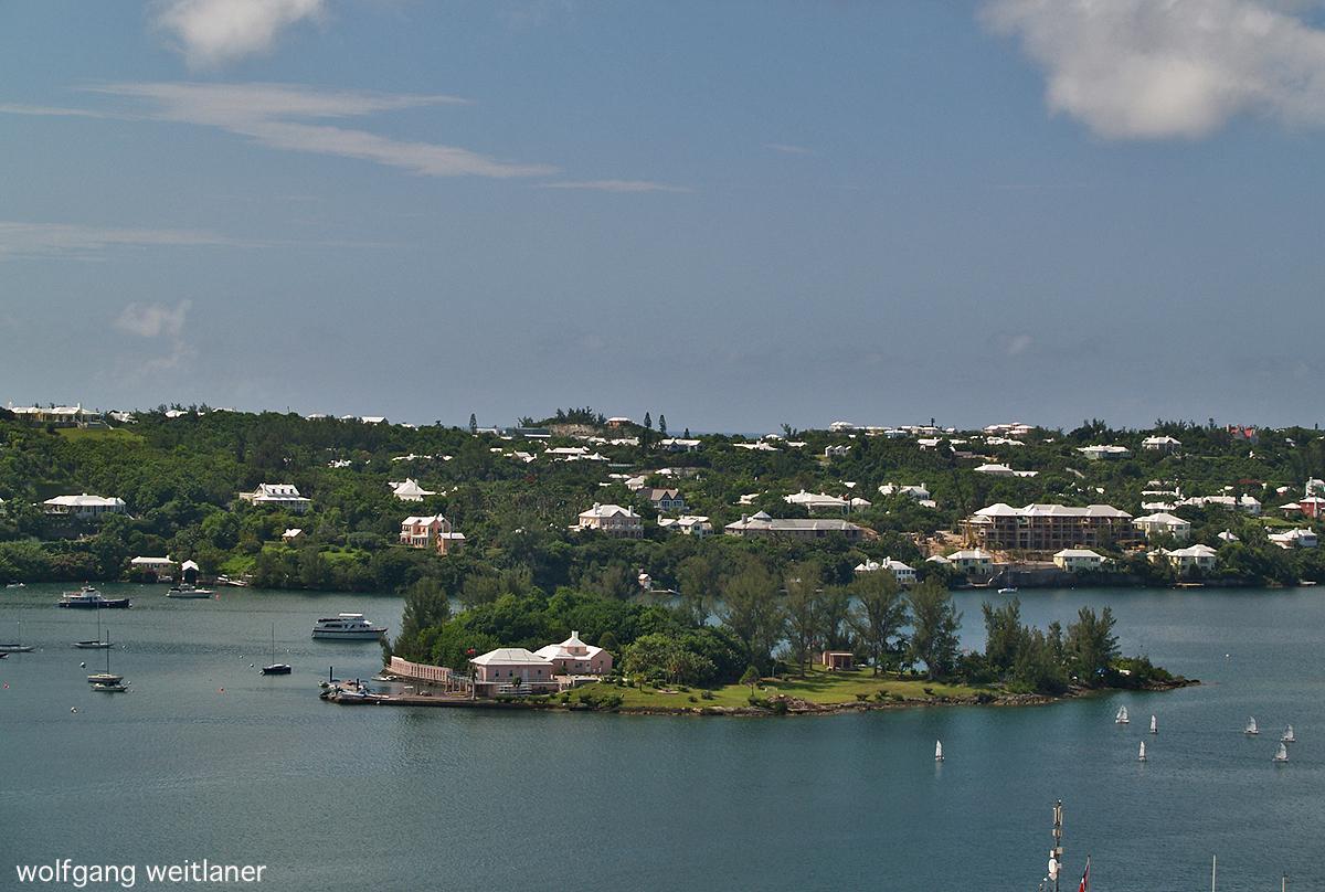 Blick über Bermuda