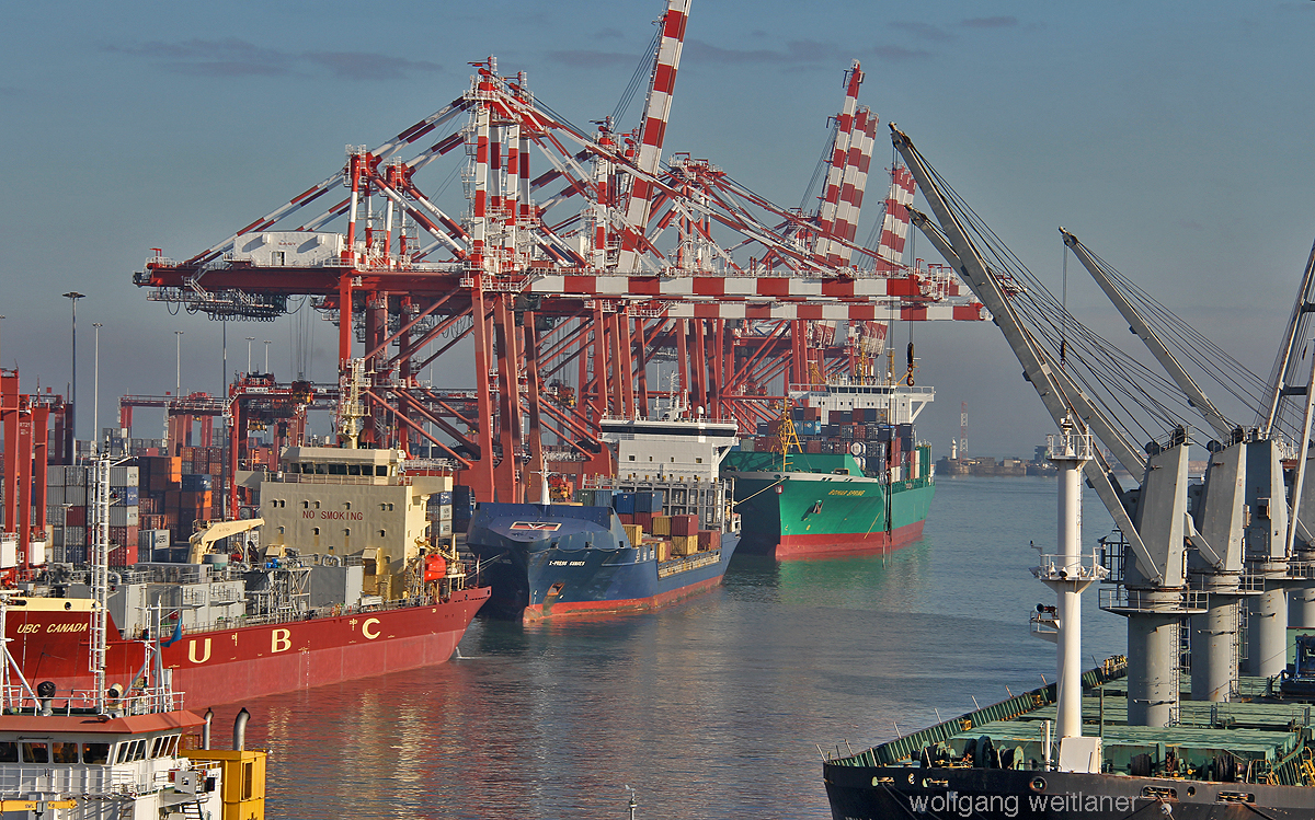 Colombo Containerhafen