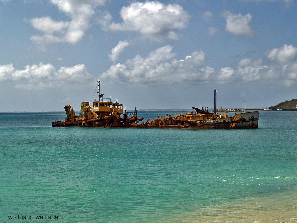 Marigot Bay Wrack - St Martin
