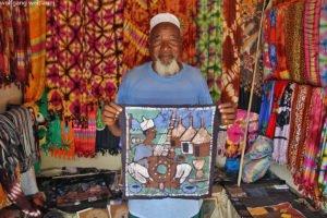 Kunsthandwerksmarkt, Brikama, Gambia, Westafrika
