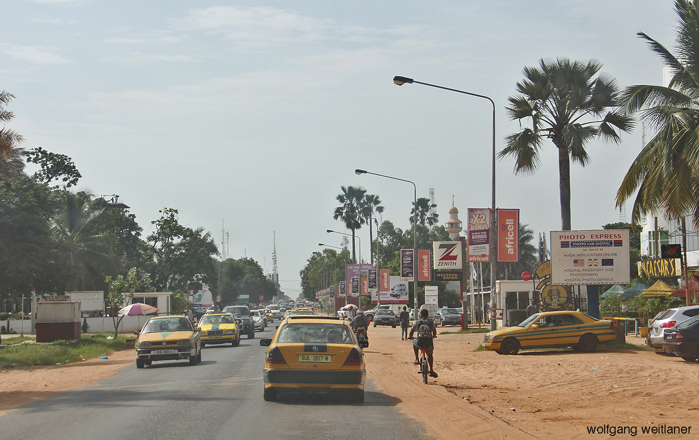 Gambia Strasse