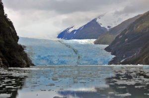 Garibaldi Fjord, Nationalpark Alberto de Agostini, Patagonien, Chile