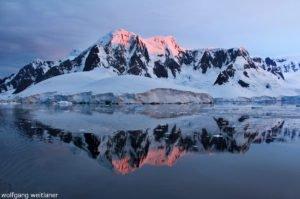 Einfahrt in den Lemaire-Kanal, Antarktika
