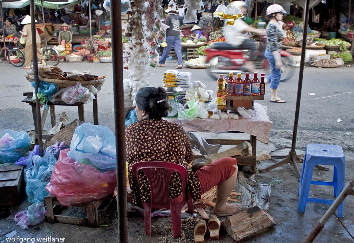 Markt in Nha Trang, Vietnam