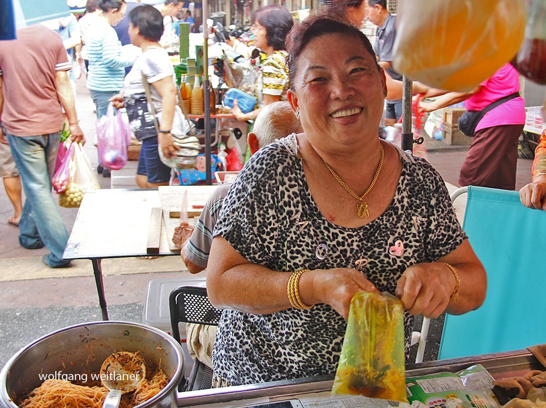 Markt in Georgetown, Penang, Malaysia