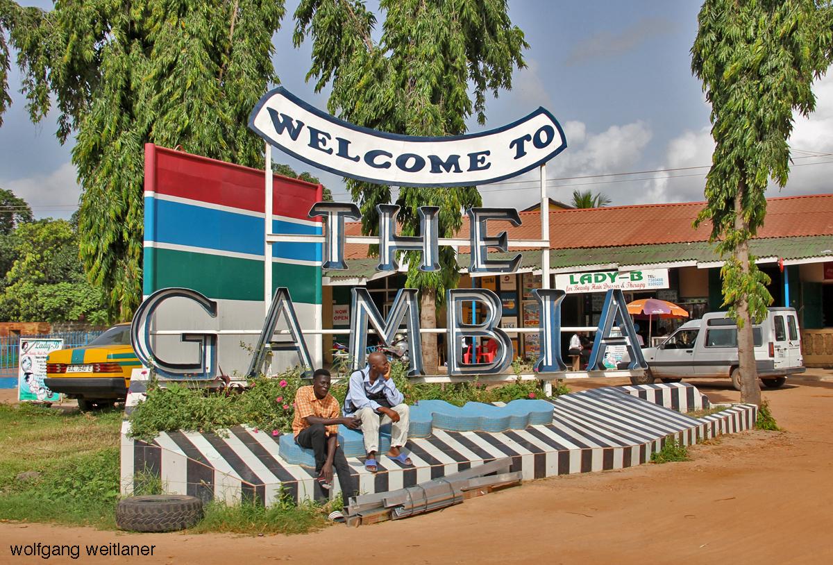 Unterwegs in Brikama, Bakau und Serrekunda, Gambia, Westafrika
