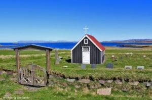 Kirchen in Island, Snæfellsnes-Halbinsel, Island