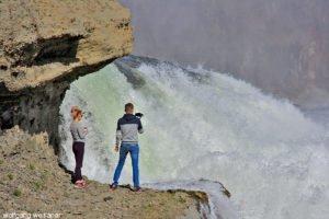 Photo-Shooting Gullfoss-Wasserfälle, Island