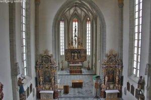 Wehrkirche Sankt Wolfgang, Grades, Metnitztal, Kärnten