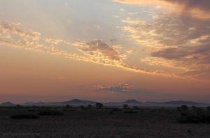 Himmel über Wüste Namib, Namib-Naukluft, Namibia