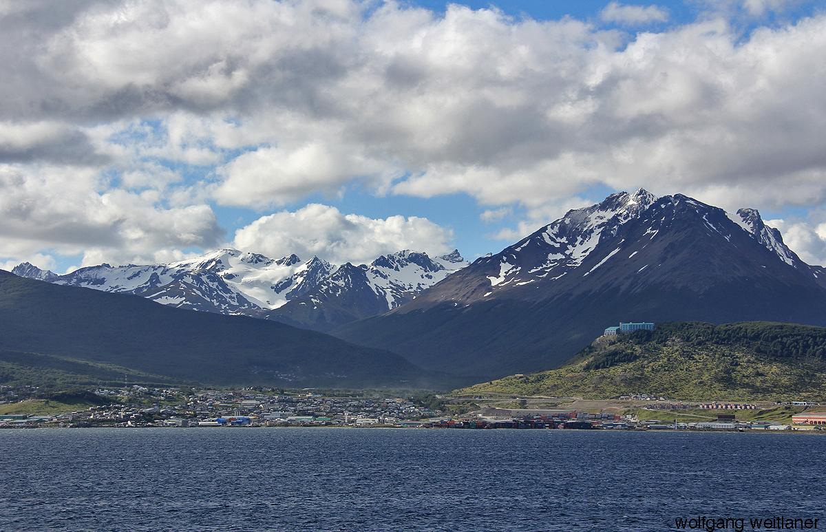 Himmel über Ushuaia, Tierra del Fuego, Argentinien