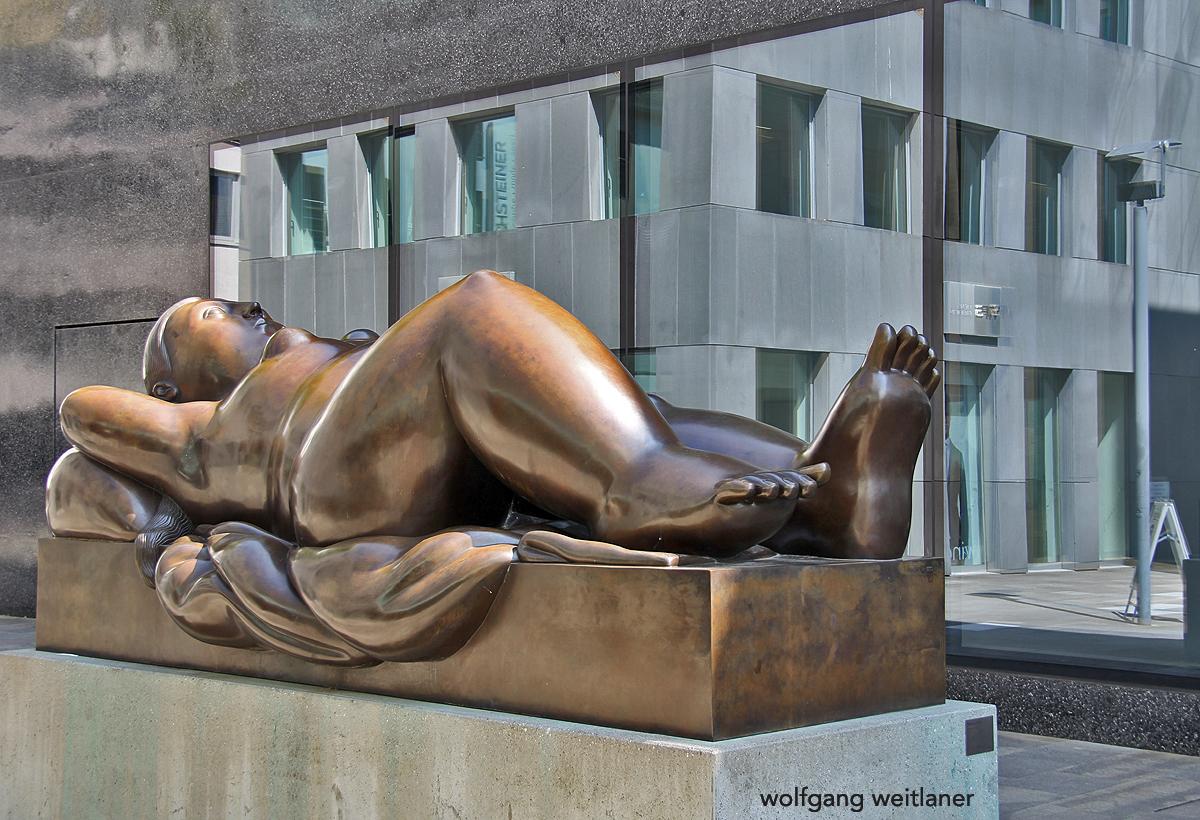Ruhende Frau, Kunstmuseum Liechtenstein, Vaduz