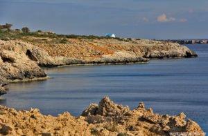 Kapelle Agioi Anargyori, am Kap Gréko, Zypern