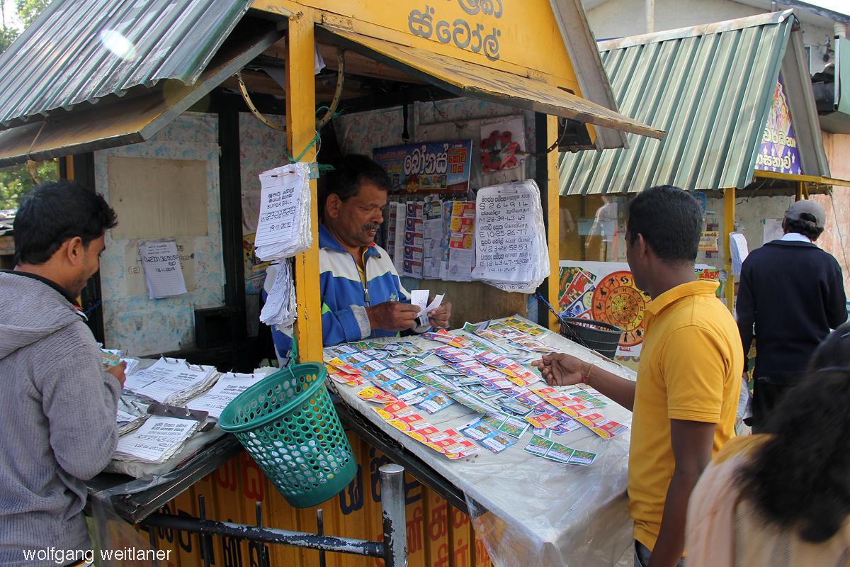 Nuwara Eliya markt
