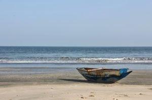 Morgen am Strand, Serrekunda, Gambia, Westafrika