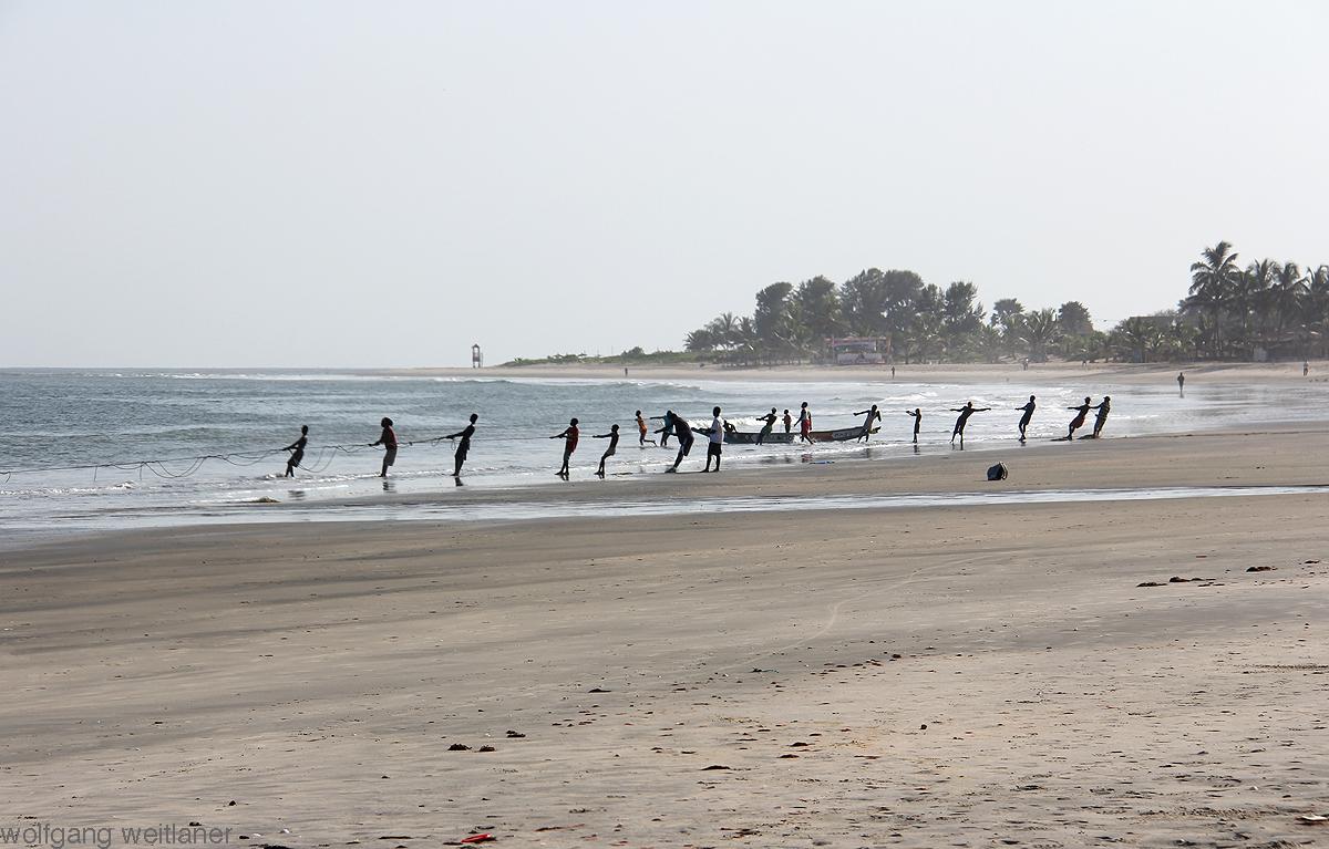 Fischernetze - Gambia