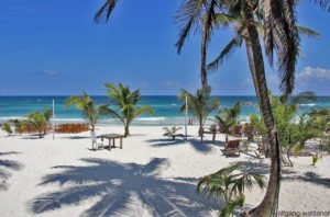 Tulum-Beach, Yucatan, Mexiko