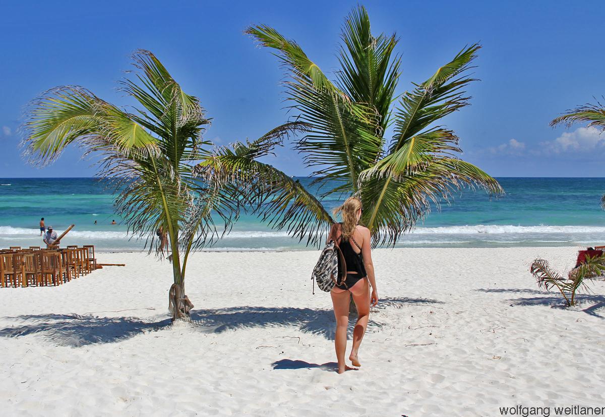 Tulum-Beach - Yukatan, Mexiko