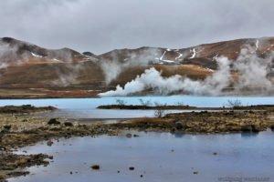 Kochendes Wasser, Myvatn, Island