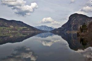 Frühling am Mondsee, Salzkammergut, Oberösterreich
