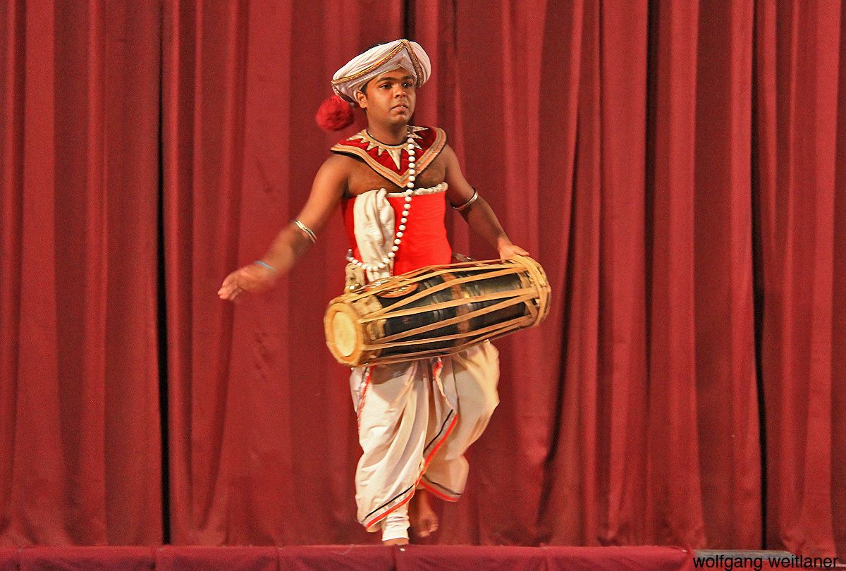 Traditionelle Musik, Kandy, Sri Lanka