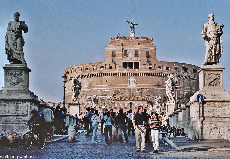 Castel Sant' Angelo – Engelsburg, Rom, Italien