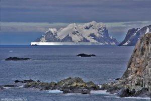 Tafeleisberg vor Elephant Island, South Shetland, Antarctica